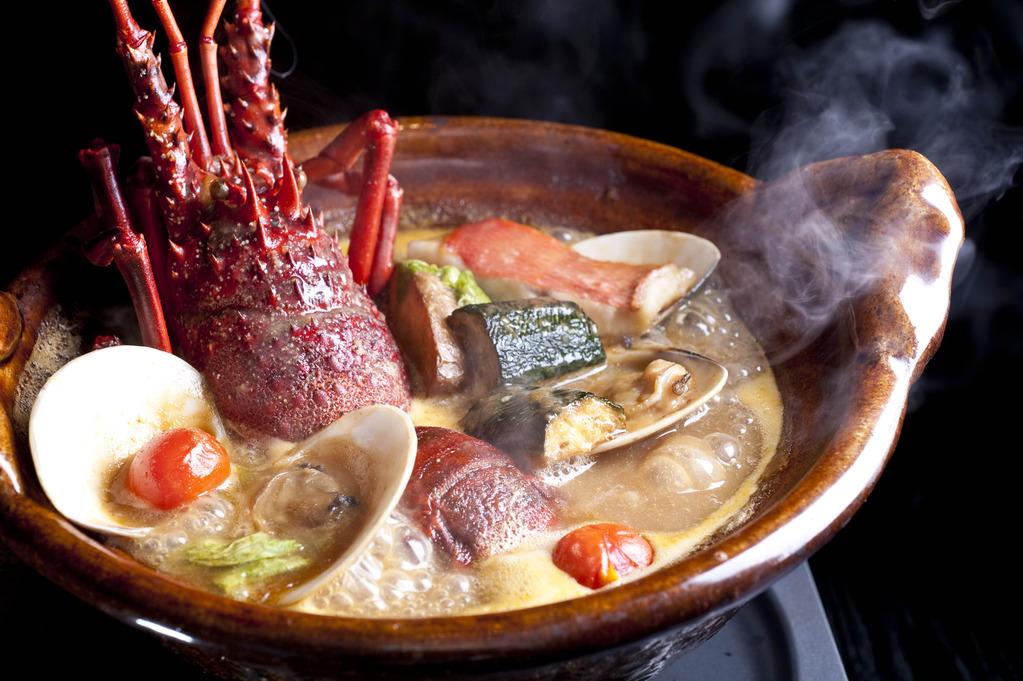 【 名物料理「海香鍋」を愉しむ】