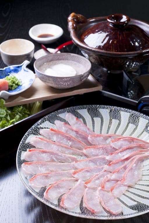 【料理長厳選食材】 地金目鯛しゃぶしゃぶを愉しむ/全室オーシャンビュー