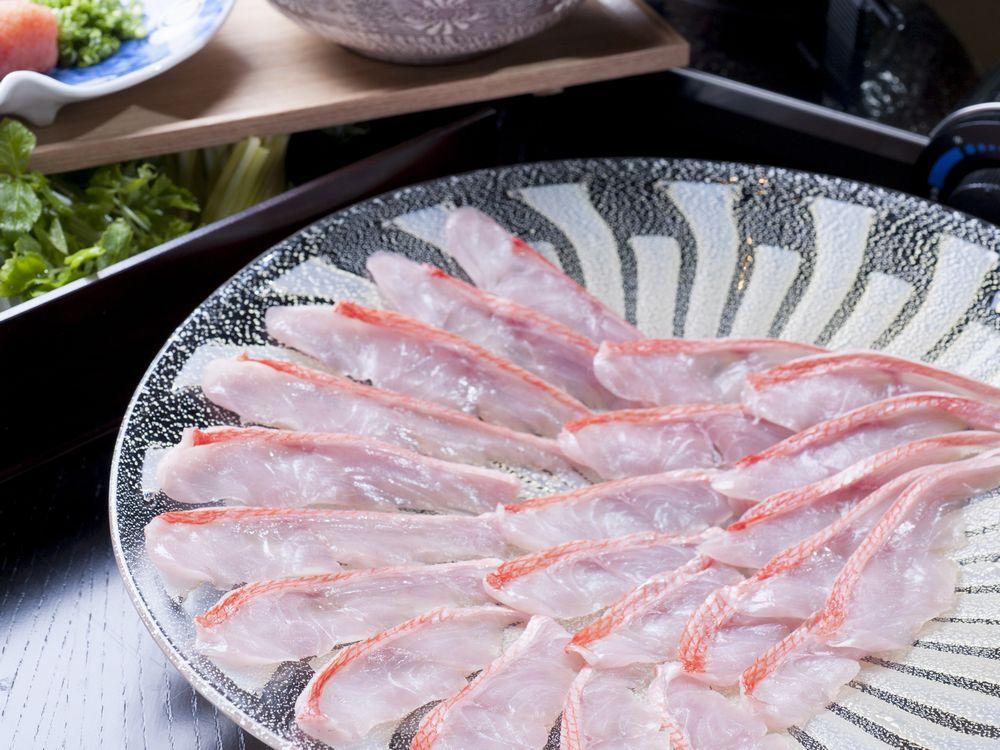 【料理長厳選】地金目鯛懐石を愉しむ/全室オーシャンビュー