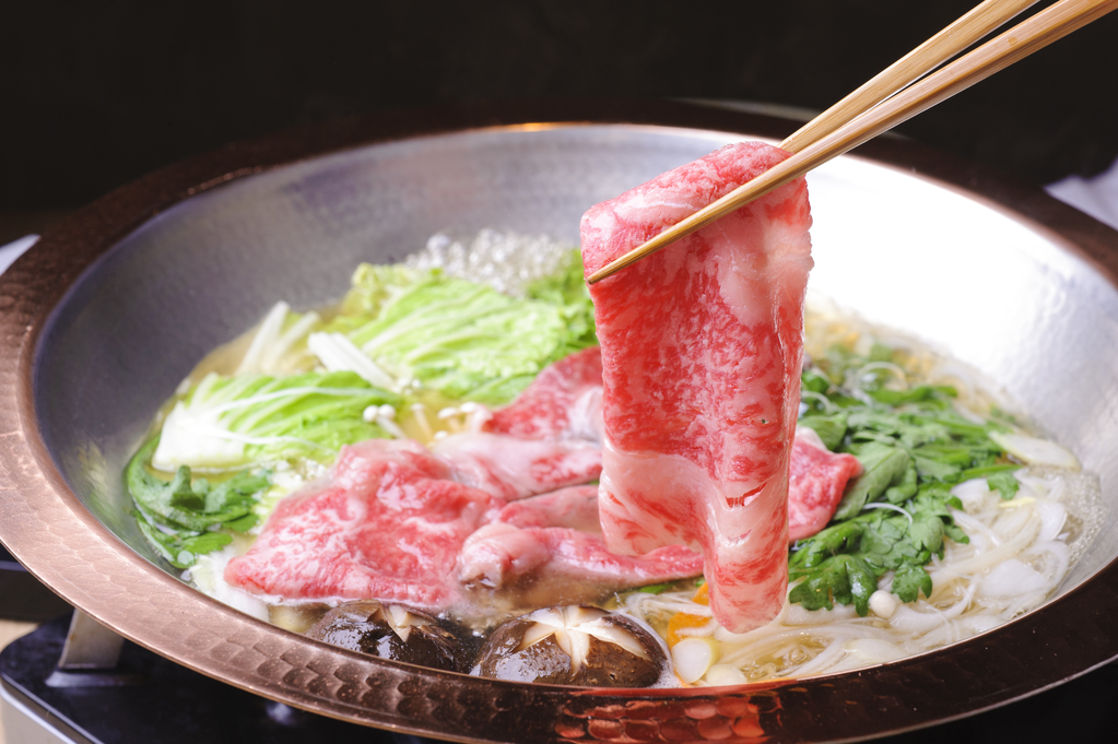 【2食付】伊勢神泉で松阪牛しゃぶしゃぶを堪能するプラン