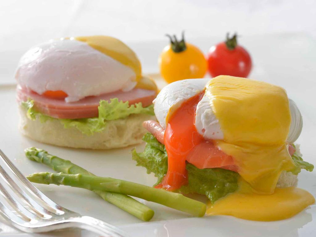 卵料理の中で1番人気の『エッグベネディクト』