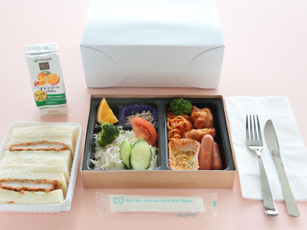 【朝食/テイクアウト】モーニングボックス(イメージ)