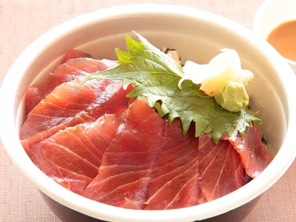 【夕食/テイクアウト】漬け鮪丼(イメージ)