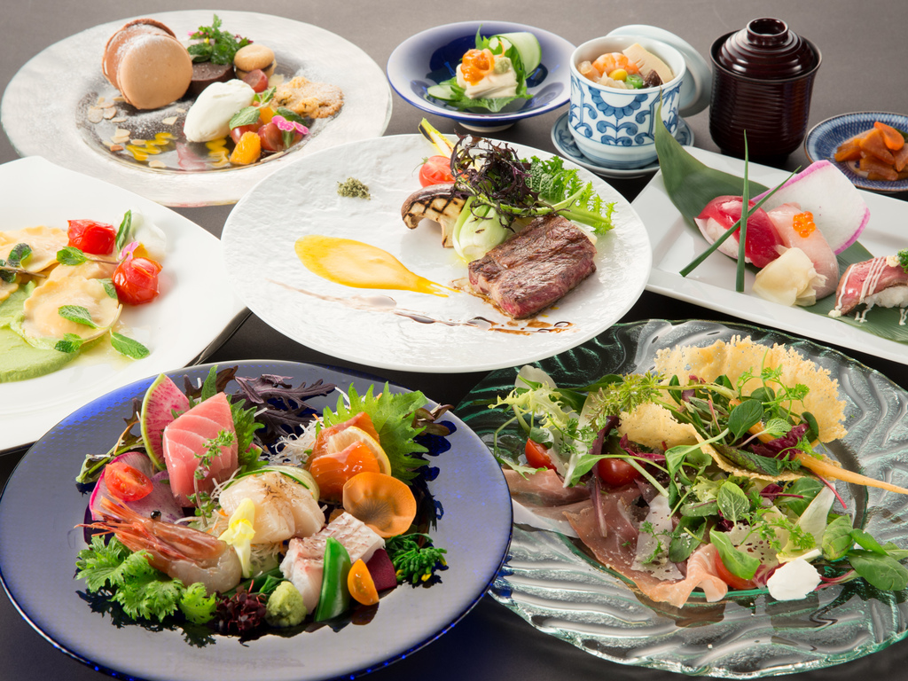和食とイタリアンのスペシャリテ