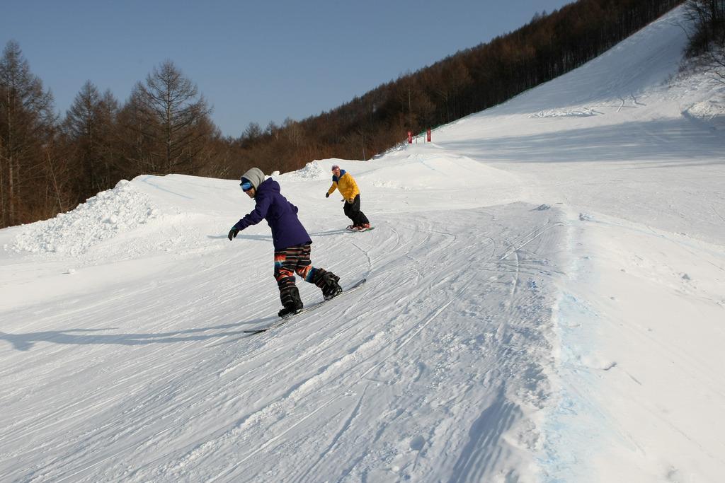 スノーボードを満喫!軽井沢スノーパーク