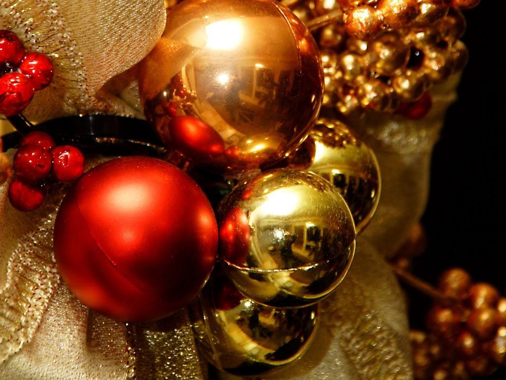 クリスマスイメージ赤