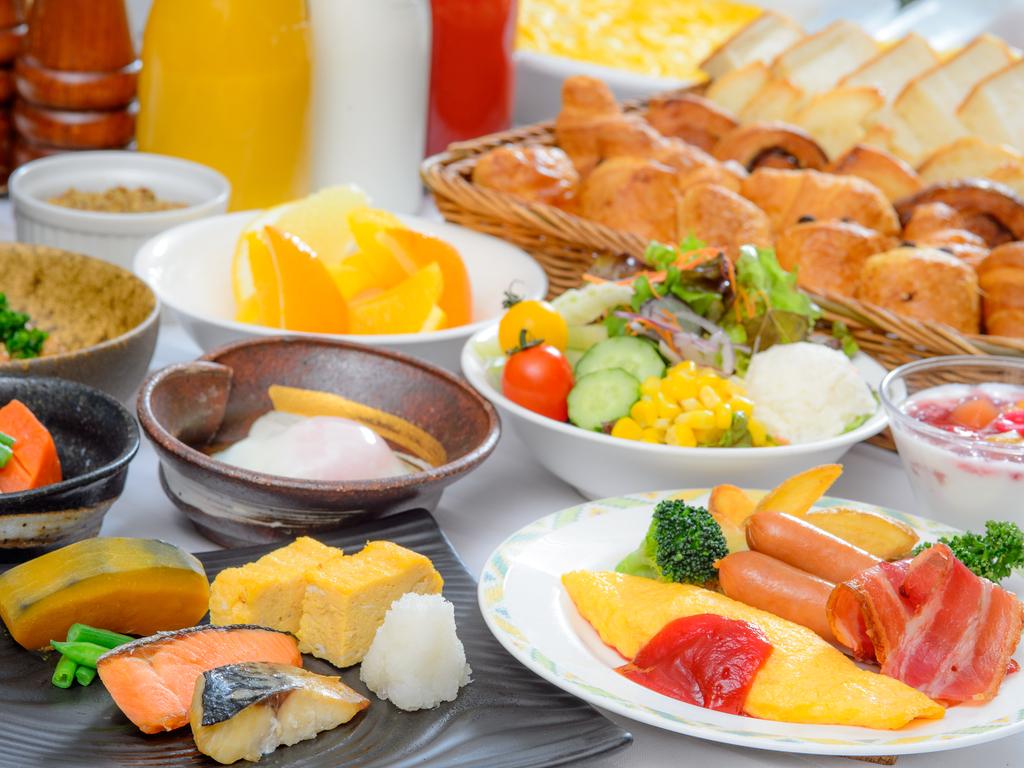朝食メニュー一例