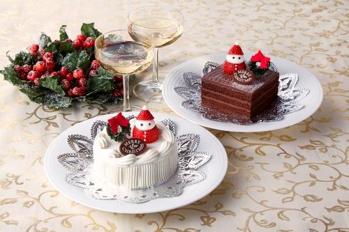 クリスマスケーキ(生クリームまたはチョコレート)