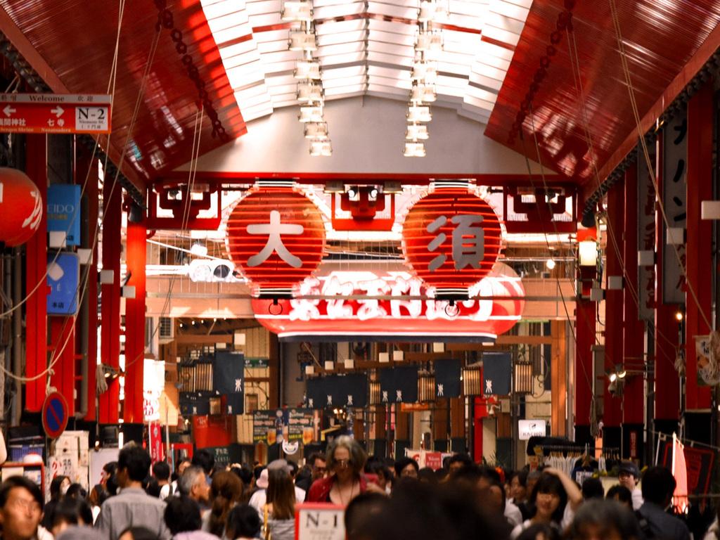 日本一元気な商店街「大須通商店街」