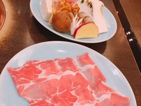 しゃぶ膳 お肉と野菜