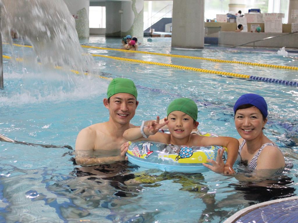 ○テルメテルメは室内プールなので、雨や雪の日でも安心してご利用いただけます。
