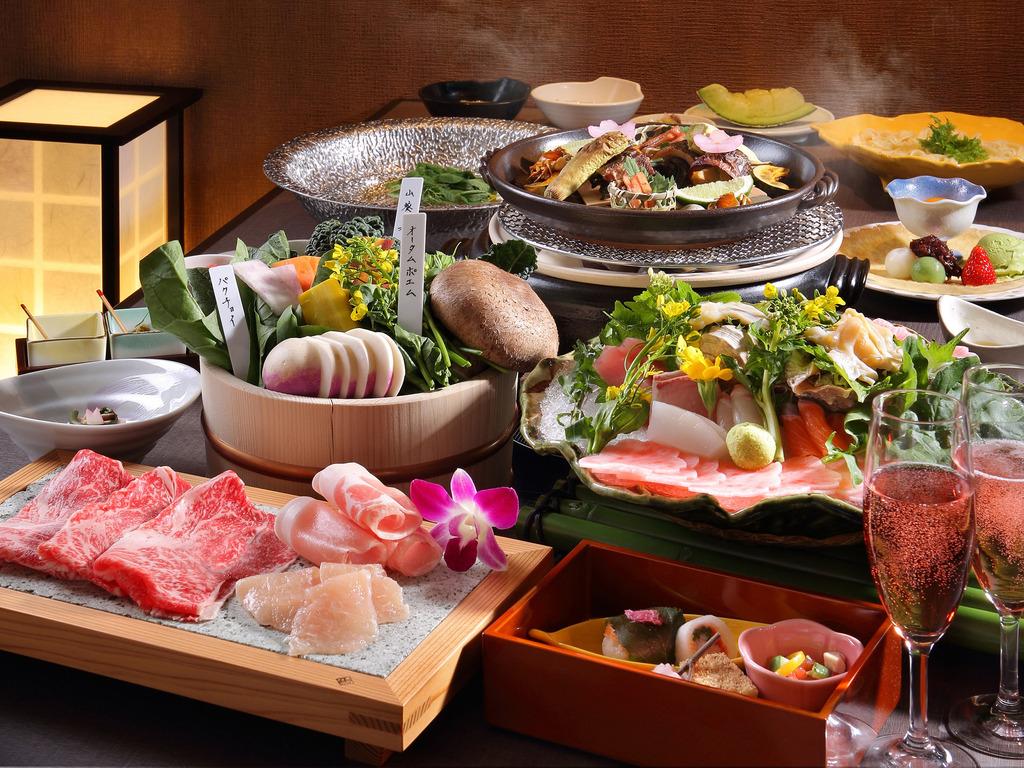 栃木産ブランド肉や野菜を使った鍋料理