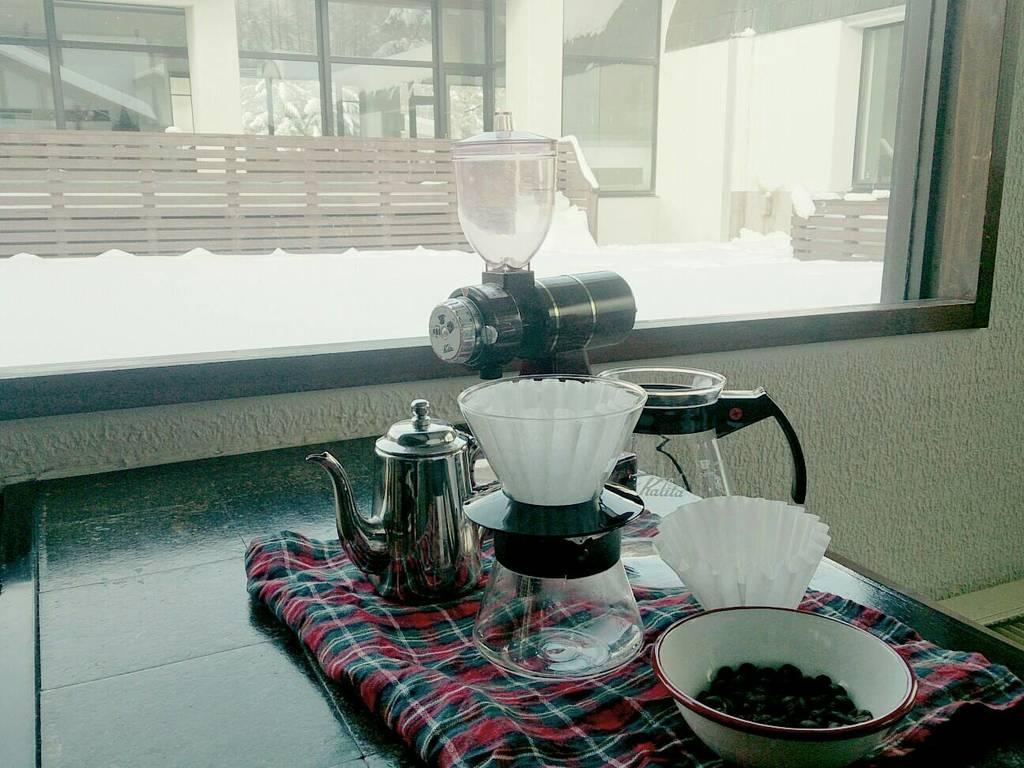 『コーヒードリップラボ』オリジナル焼き菓子もおすすめ。