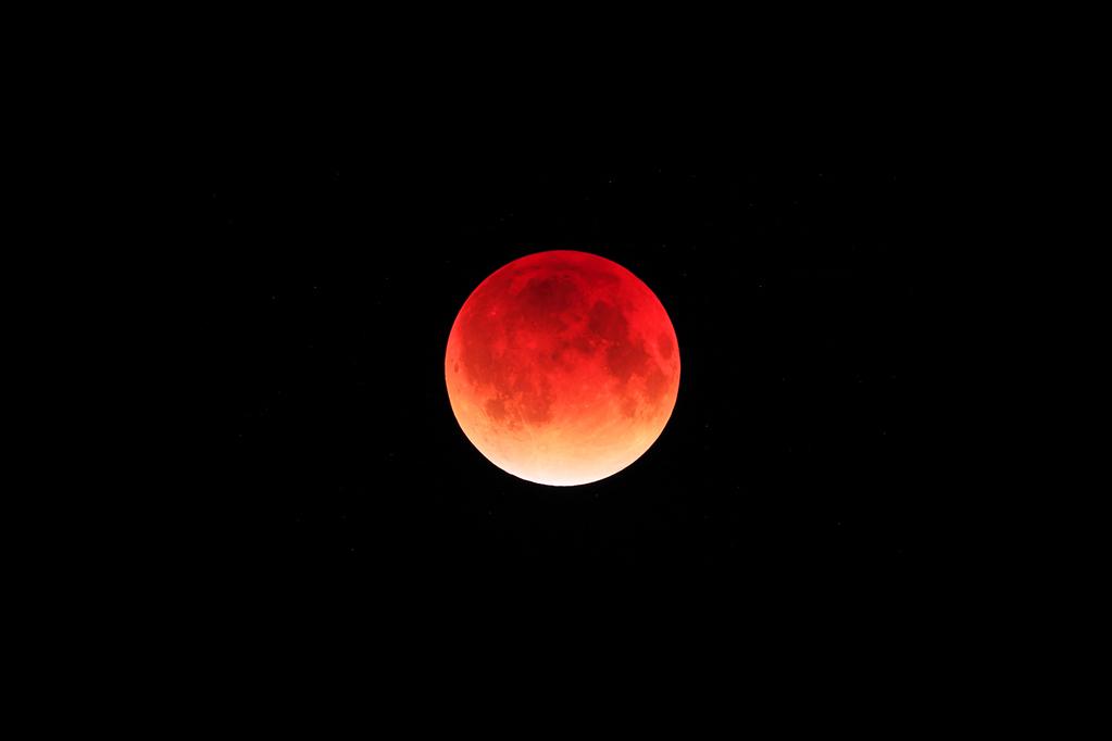 月食 イメージ 撮影 有賀哲夫氏