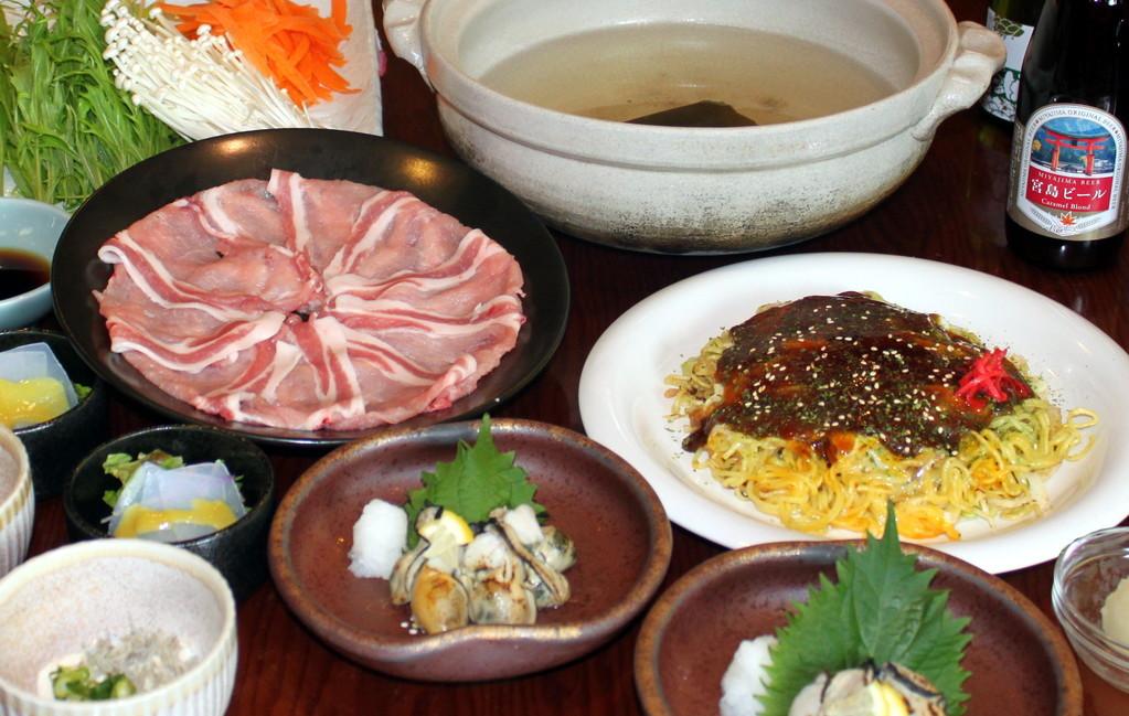 凪コース料理一例