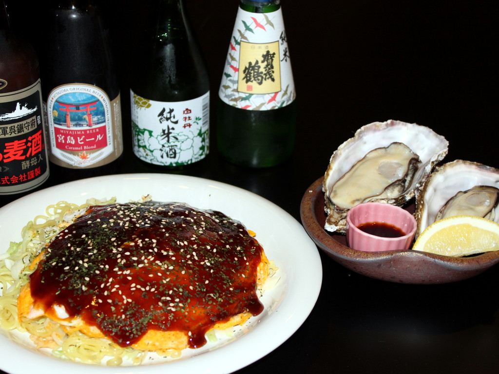 居酒屋風レストラン凪お食事の一例