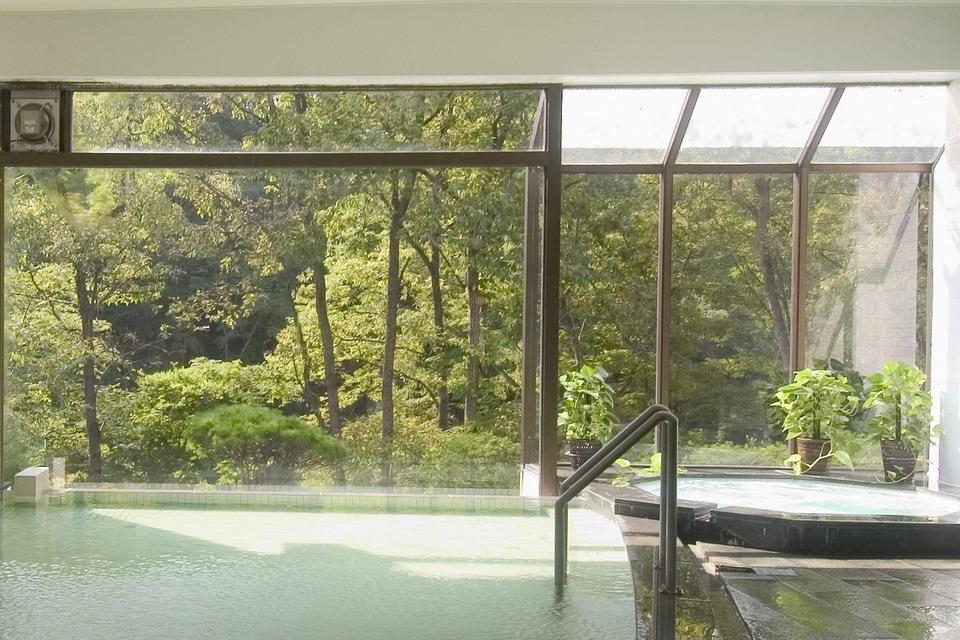 温泉大浴場「春秋の湯」