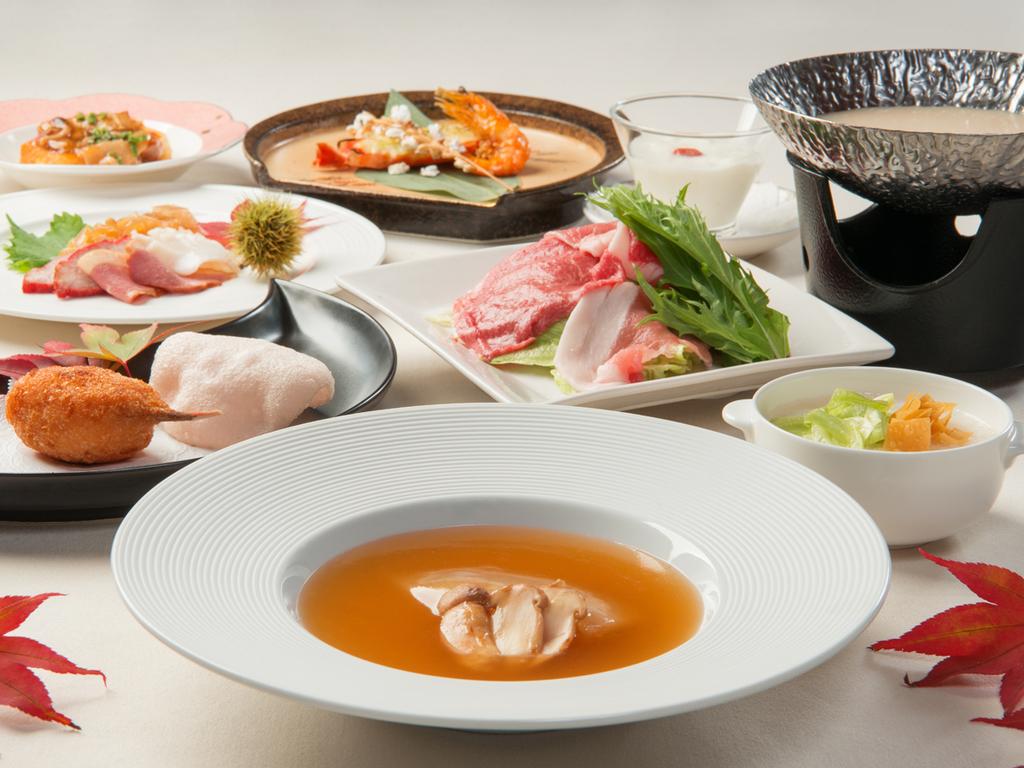 人気の中国料理フルコース ※11月までの料理イメージ
