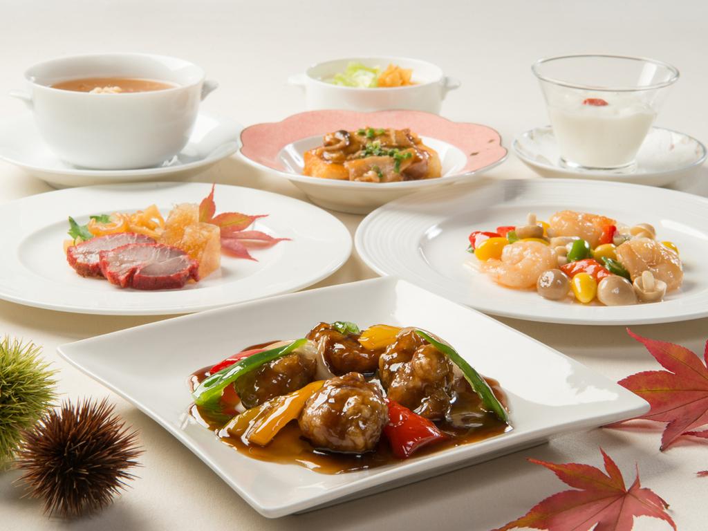 中国料理お値打ちコース ※11月までの料理イメージ