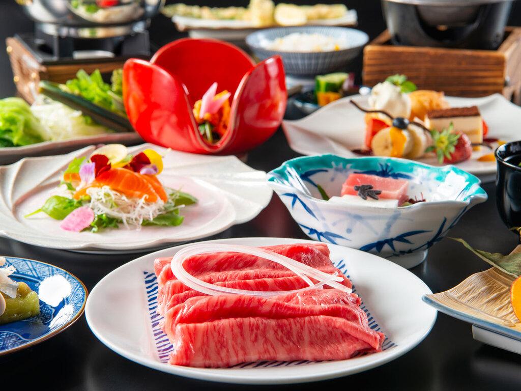 前沢小形牧場牛と季節の和食膳 ※イメージ