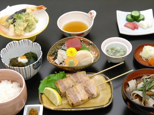 夕食/最上階の和食レストラン「羽山」にて ※イメージ