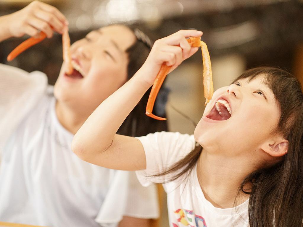 【8〜9月期間限定】カニをたらふく食べちゃおう♪