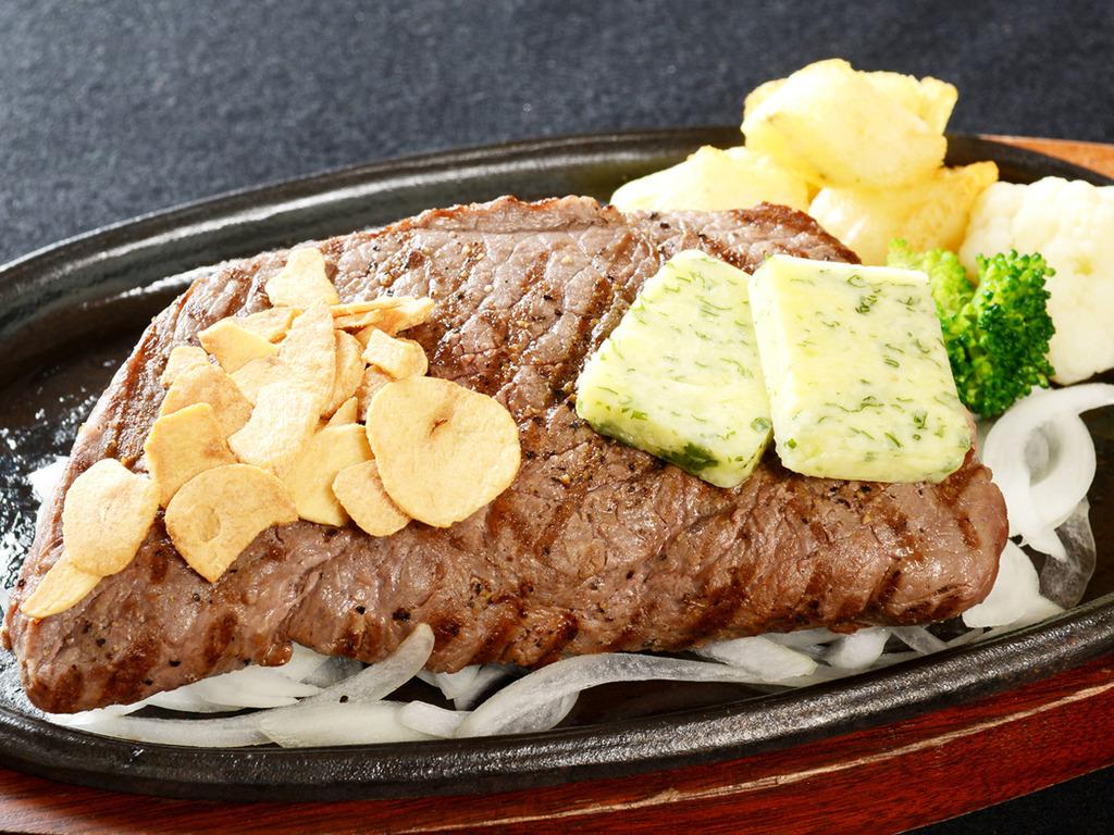 食べごたえ抜群のステーキ※料理イメージ