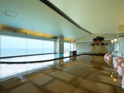 天然温泉の大浴場「海の花」