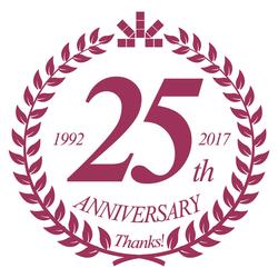25周年ロゴ