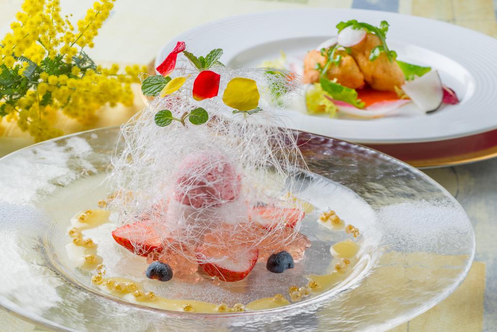 ■料理イメージ■<BR>夕食は特別フルコースを