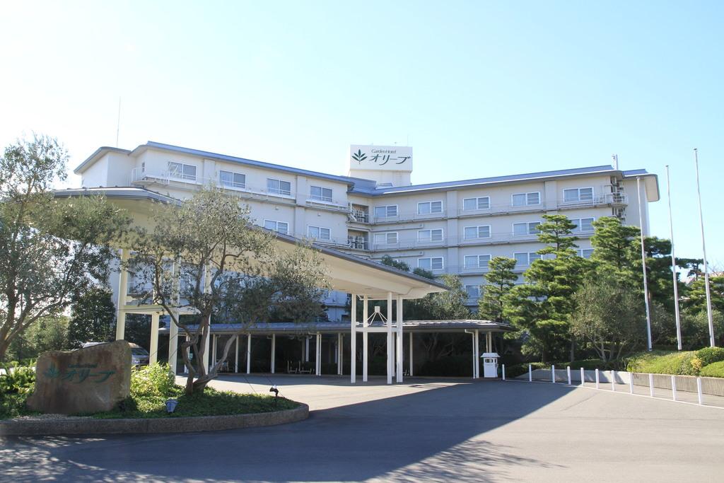 ■ガーデンホテルオリーブ■<BR>オリーブの木に囲まれた緑豊かなホテル<BR>遊園地のすぐ近くです