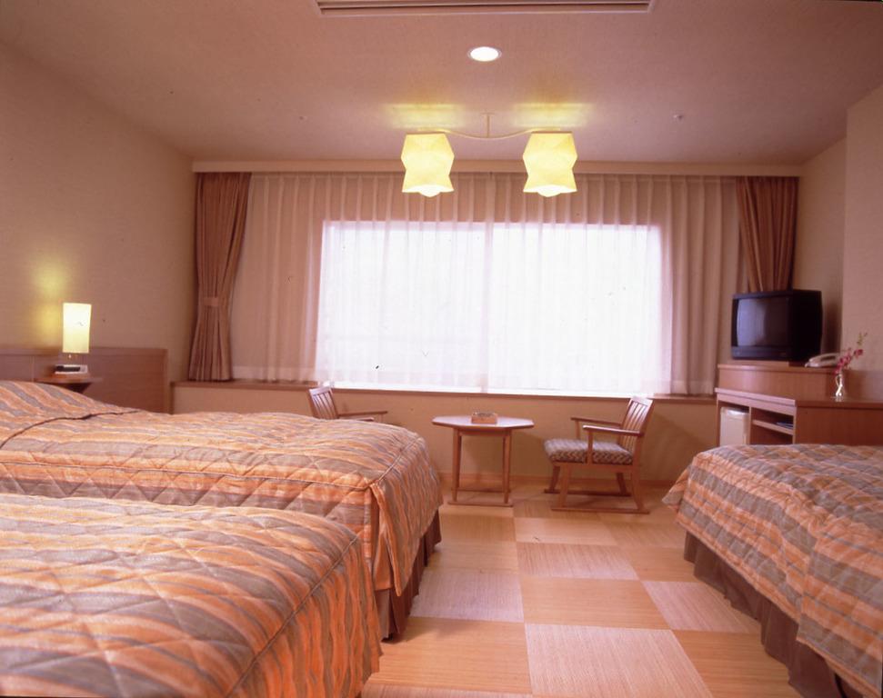 ■ホテルオリーブ 洋室28�u■<BR>和風タイプのトリプルの洋室です