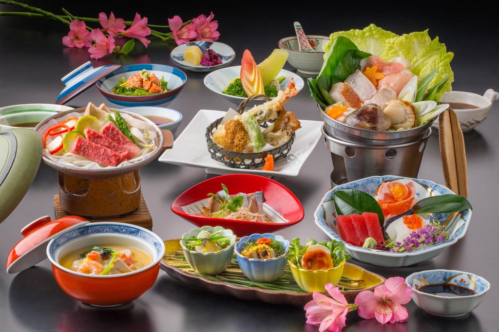 ■オリーブ宴会料理「きそ会席」■<BR>料理写真は、過去の同プランのものとなります。