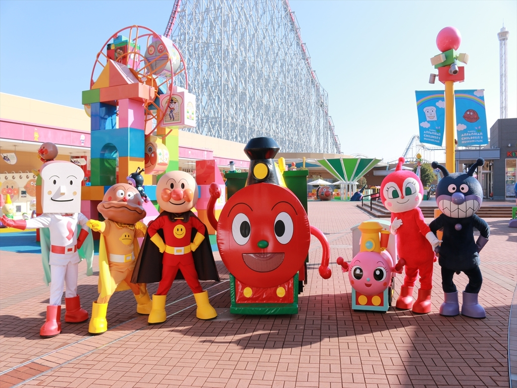 ■名古屋アンパンマンこどもミュージアム&パーク■ <BR>遊園地メインゲート隣です<BR>アンパンマンに会いに行こう!