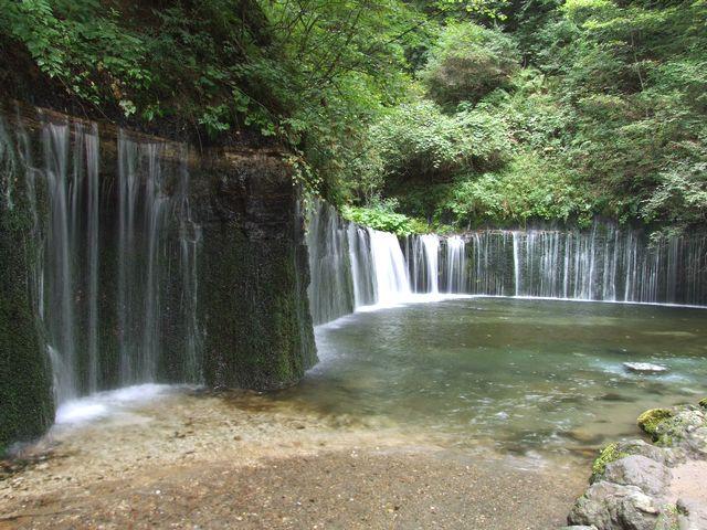 【白糸の滝】県内の魅力を再発見!