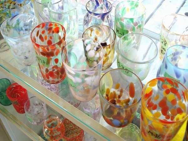 【体験】ガラス工房体験※写真はイメージです