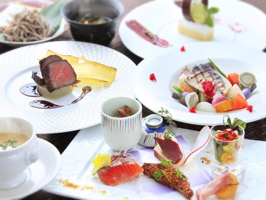 【お食事】信州スタイル スタンダードフレンチフルコース