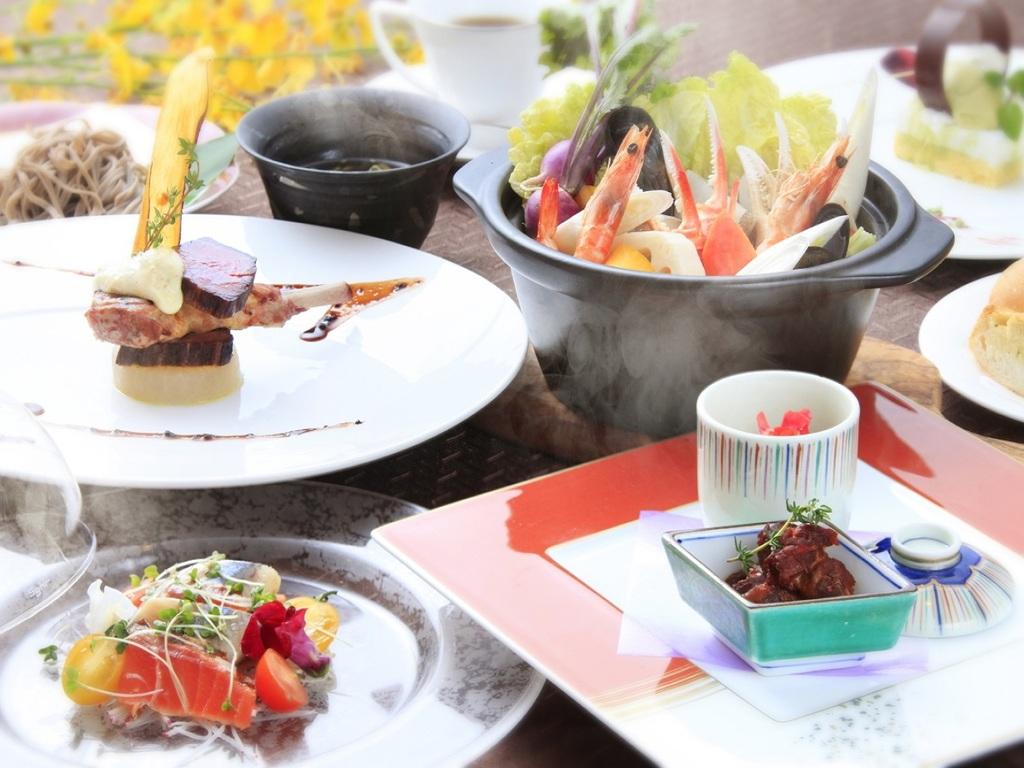 【お食事】信州スタイル 特選フレンチフルコース