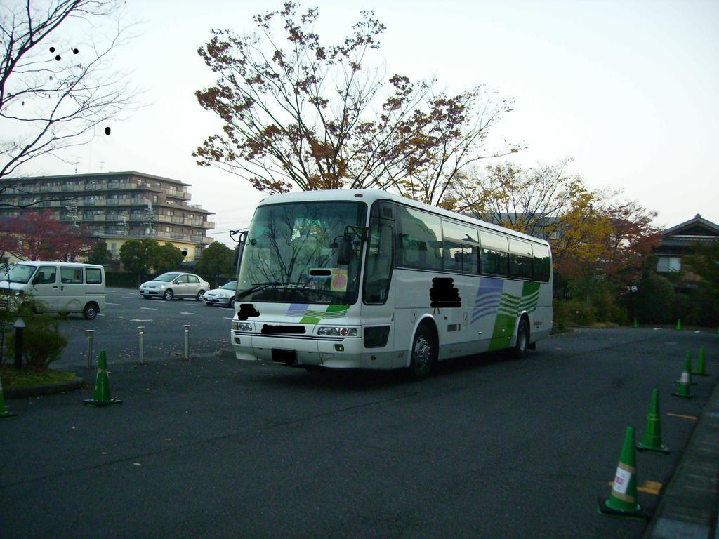 大型バスもらくらく駐車OK