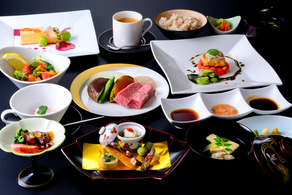 飛騨牛茶寮 神月 日本・イタリアン融合料理