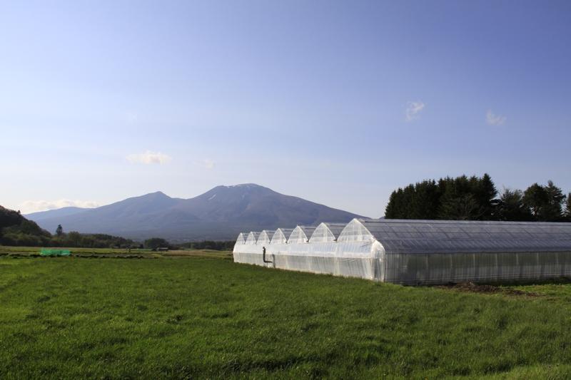 浅間山の眺望も抜群の軽井沢ガーデンファーム