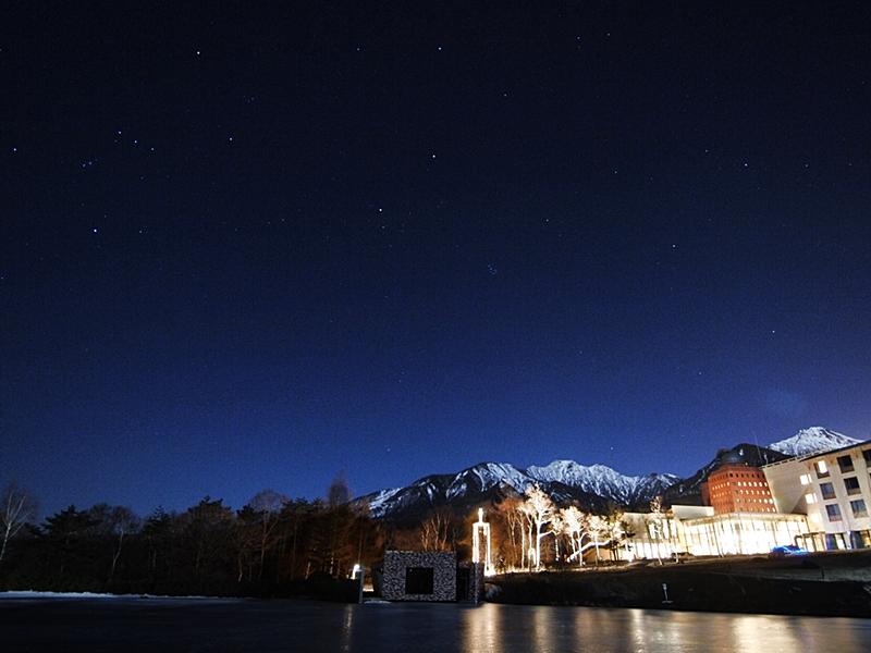 特に冬の夜空は星空鑑賞にもおすすめ