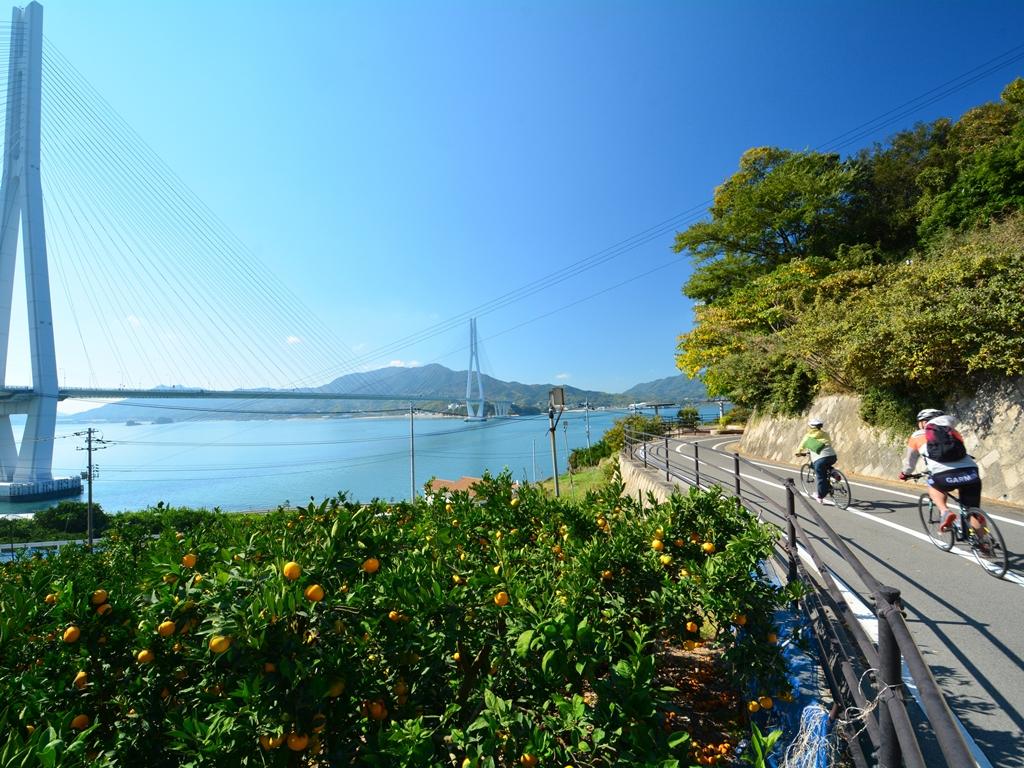 しまなみ海道 -海沿いのサイクリング-