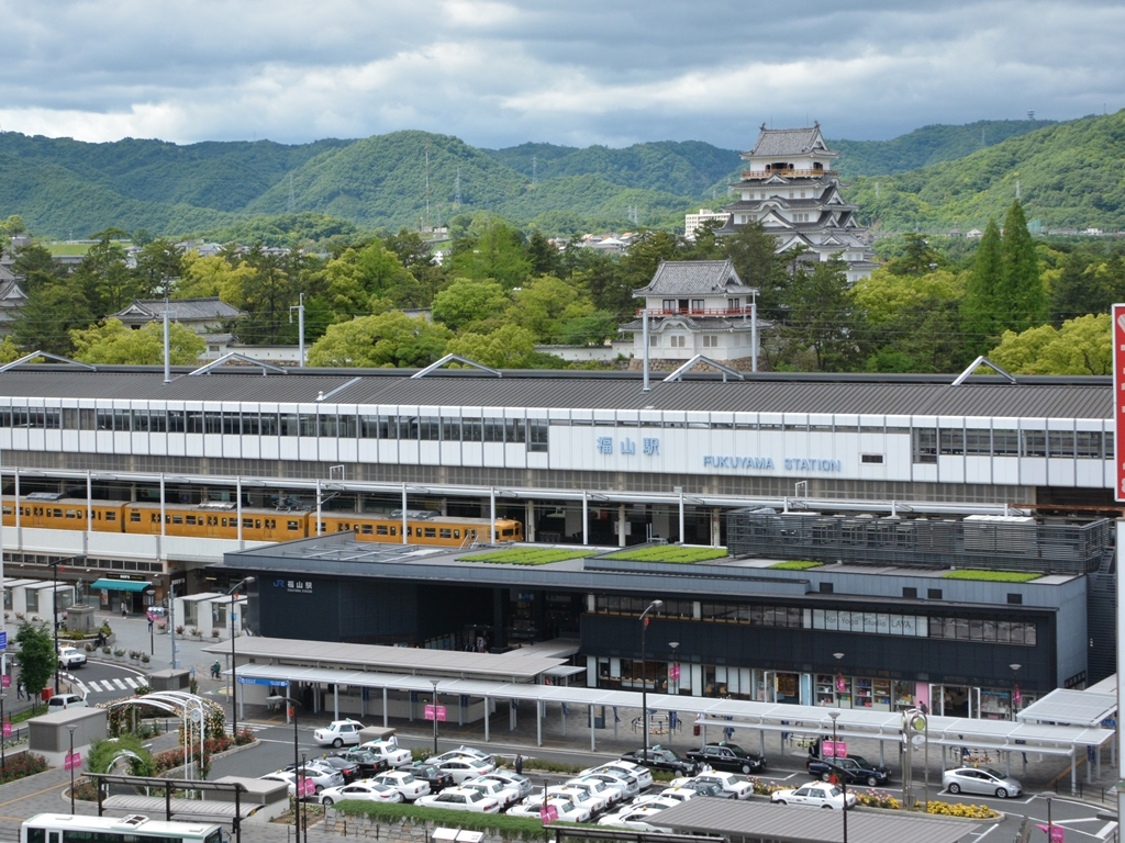 福山駅&福山城