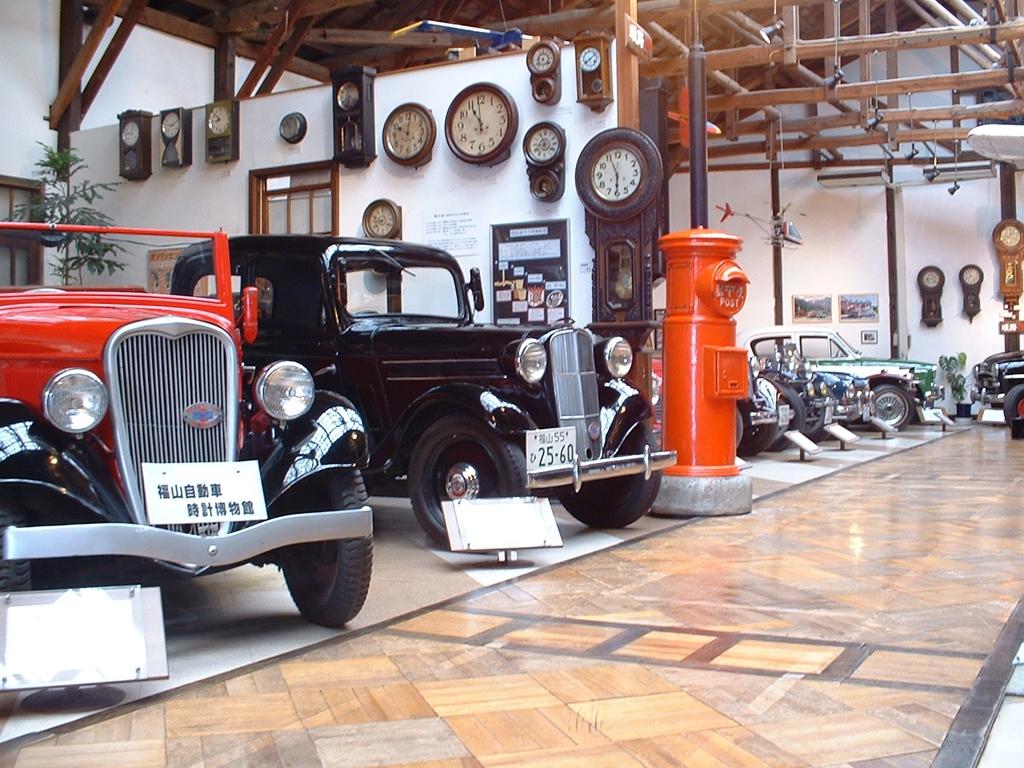 のれ!みれ!写真撮れ!自動車時計博物館