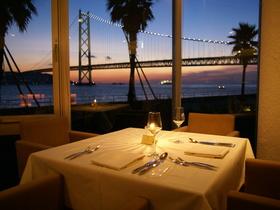 絶景を臨むレストラン