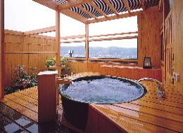 飛翔の館客室露天風呂537号室