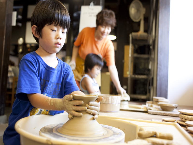 初めての陶芸体験