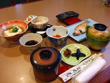 マルモの和朝食:鳥取の手作りの味です