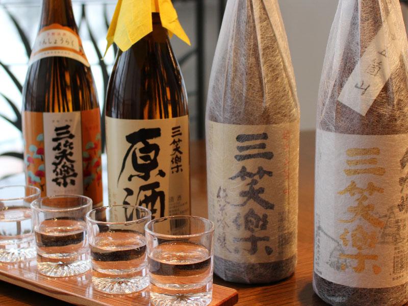 世界遺産の五箇山で愛される酒蔵『三笑楽』の地酒4種類
